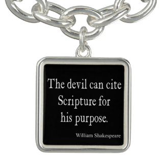 Devil Cite Scripture His Purpose Shakespeare Quote