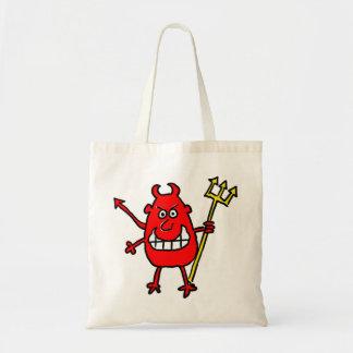 Devil Design Tote Bag