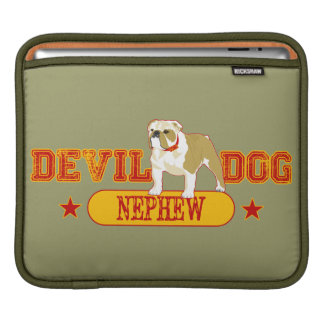 Devil Dog Nephew iPad Sleeve