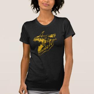 Devil dog Skull black shirt Tee Shirt