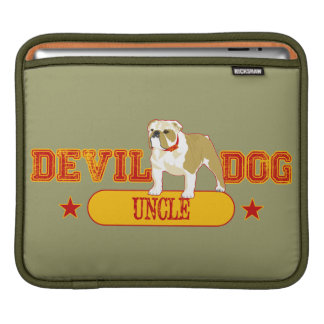 Devil Dog Uncle iPad Sleeve