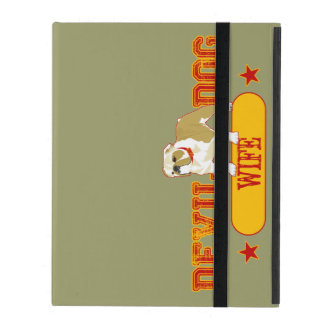 Devil Dog Wife iPad Cover