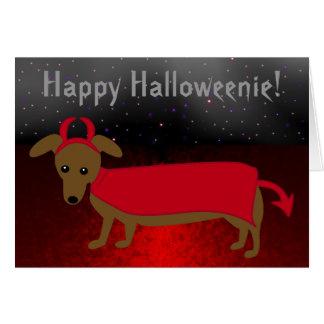 Devil Doggie Card
