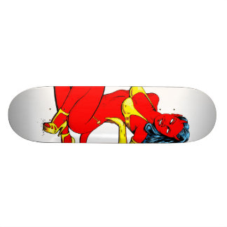 Devil girl 20.6 cm skateboard deck