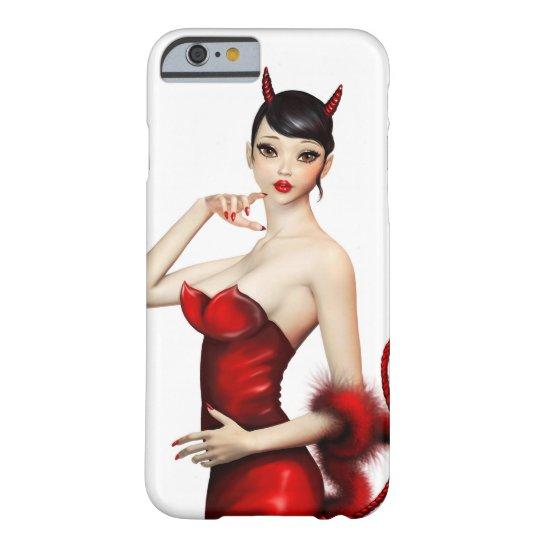 Devil girl iphone case