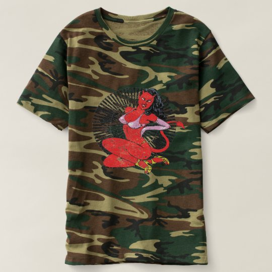 Devil-Girl Pin-up T-Shirt