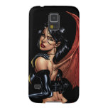 Devil Girl with Red Wings and Horns by Al Rio Case For Galaxy S5