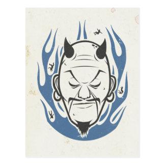 Devil Head Postcard