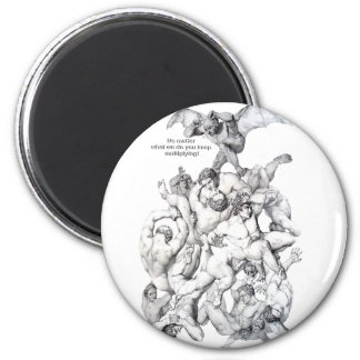 DEVIL IN TROUBLE MAGNETS