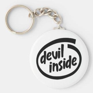 Devil Inside Key Ring