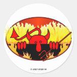 Devil Kilroy Sticker