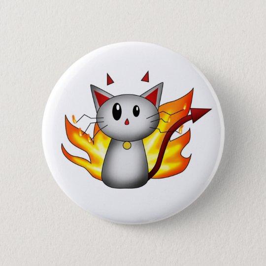 Devil Kitty - Button