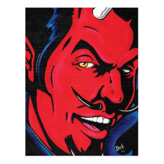 Devil Man Postcard