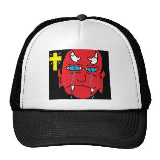 devil misses heaven mesh hats