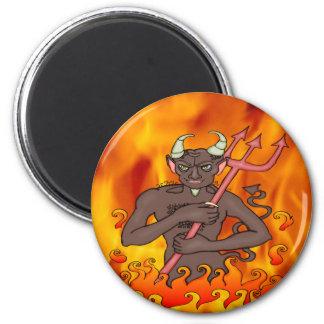 Devil Monster Refrigerator Magnets