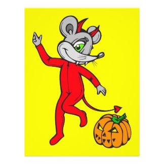 Devil Mouse 21.5 Cm X 28 Cm Flyer