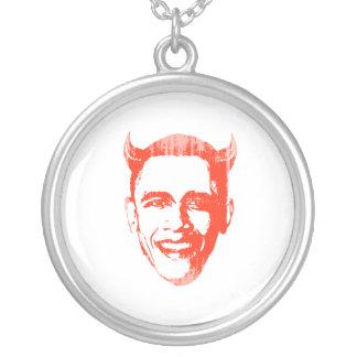 Devil Obama 2 Faded.png Custom Necklace
