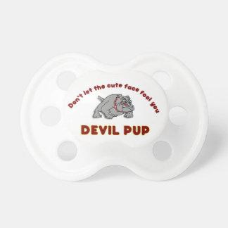 Devil Pup Pacifier