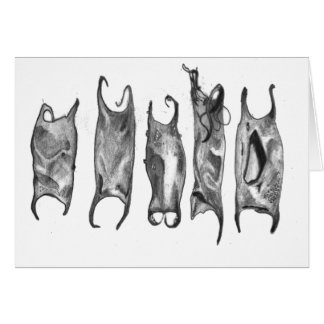 devil purses by stanthos greeting card