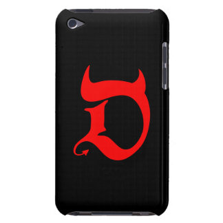 Devil red print iPod touch etuis