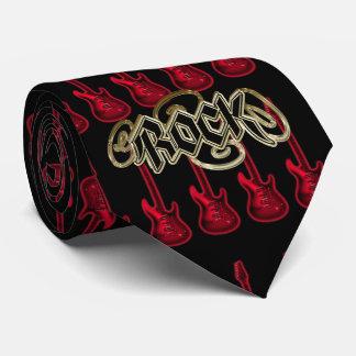 Devil Rock Guitar ~ Hard Rock Guitar Player Tie