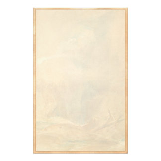 Devil s Bridge Saint Gotthard s Pass turner art Stationery Paper