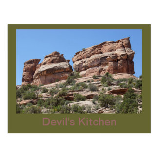 Devil s Kitchen Formation in the CO Ntl Mnt Post Cards