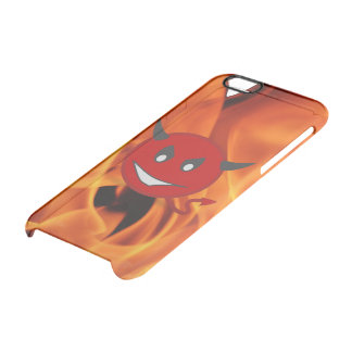 Devil smiley clear iPhone 6/6S case
