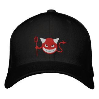 Devil Smiley Embroidered Baseball Caps