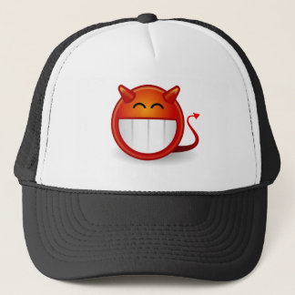 Devil Smiley Funny Trucker Hat