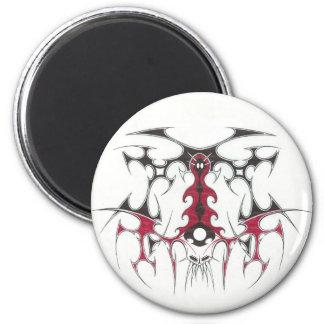 Devil tribal magnet