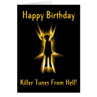 Devil Tunes Birthday Card