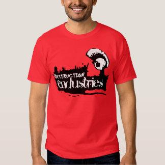 Devil Wears Nada - Destruction Endustries T-shirts