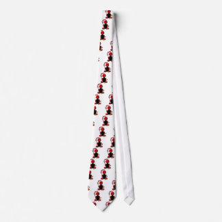 Devil (with logos) tie