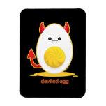Deviled Egg Vinyl Magnet
