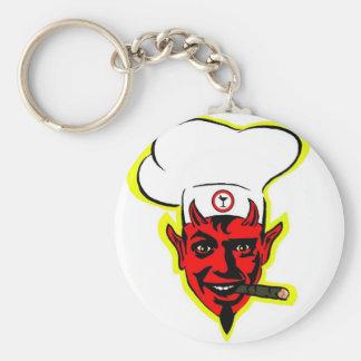 Devilish Chef Key Ring