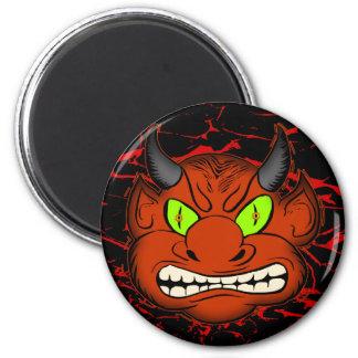 Devilish Demon 6 Cm Round Magnet