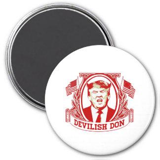 Devilish Don - Anti-Trump - 7.5 Cm Round Magnet