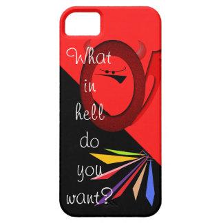 Devilish question iPhone 5/5S case