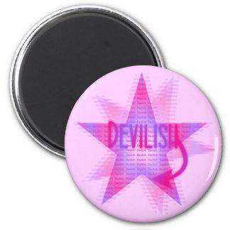 Devilish Star - Magnet