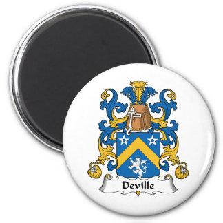 Deville Family Crest Magnet