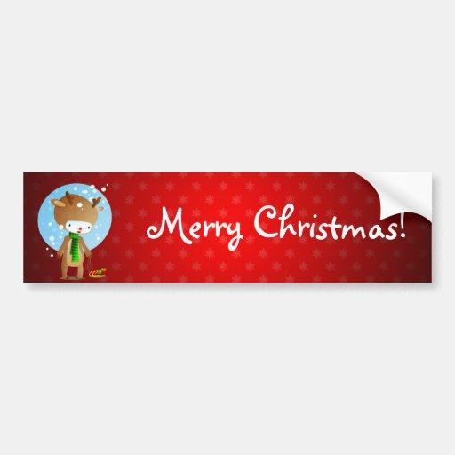 Deville Rudolph Bumper Sticker