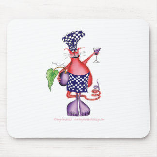 devilled cat 2, tony fernandes mouse mat