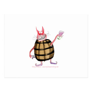 devilled cat 7, tony fernandes post cards