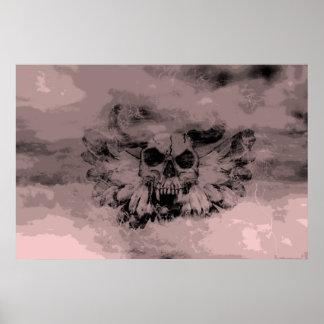 Devil's angel in the sky poster