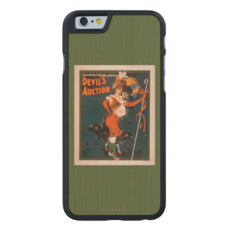 Devil's Auction Woman in Costume Theatre 2 Carved® Maple iPhone 6 Slim Case