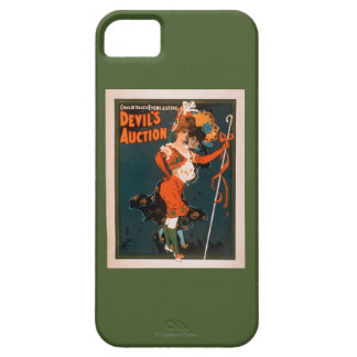 Devil's Auction Woman in Costume Theatre 2 iPhone 5 Cover