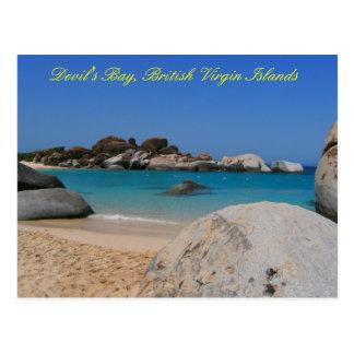 Devils Bay BVI Postcard