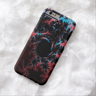 Devil's Dance - red and blue fractal art Barely There iPhone 6 Case