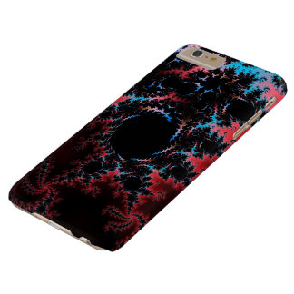 Devil's Dance - red and blue fractal art Barely There iPhone 6 Plus Case